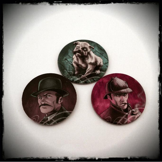 Mr. Jack Pocket жетоны сыщиков