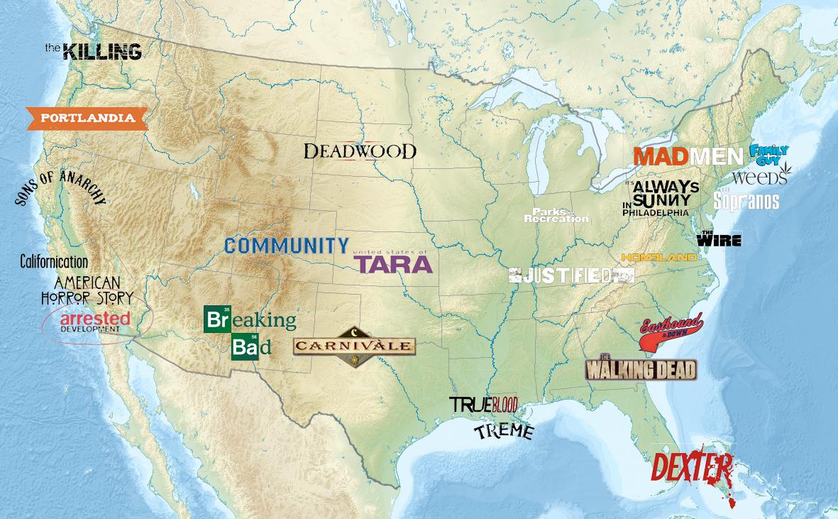 Карта сериалов
