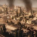Total War: Rome 2 скриншот город горит