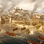 Total War: Rome 2 скриншот Морской бой