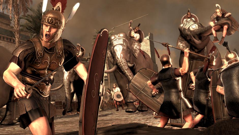 Total War: Rome 2 скриншот битва